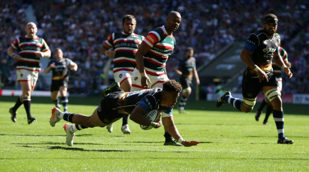 Twickenham becoming a home from home for Anthony Watson