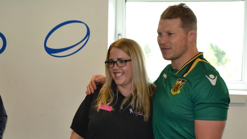 Charities chosen for Northampton Saints' Stadium MK match shirts
