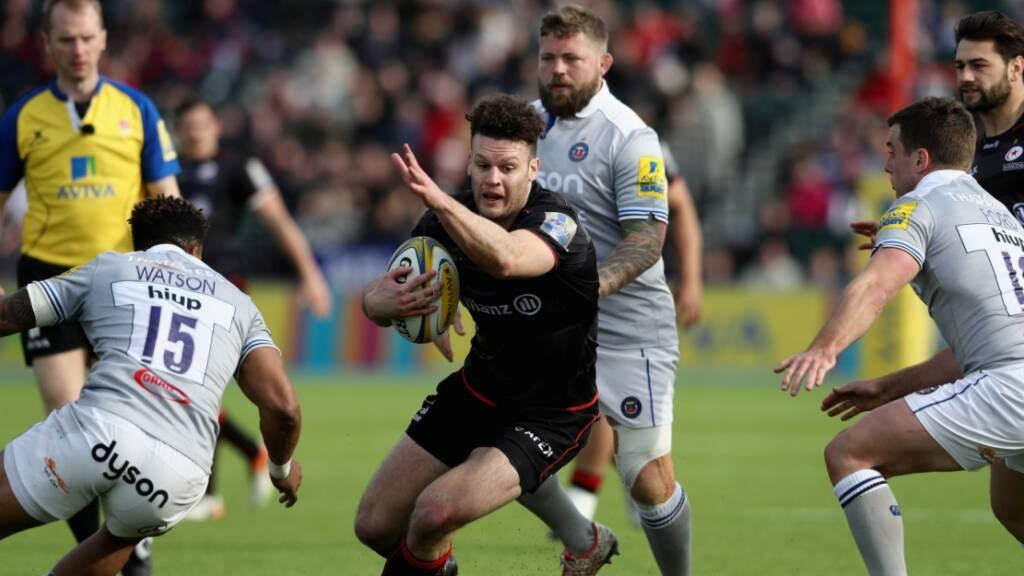 Saracens' Taylor has an appetite for Northampton Saints clash