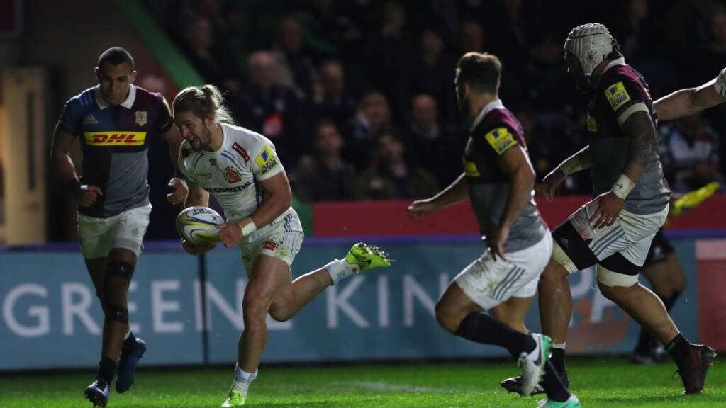 Match Report: Harlequins 26 Exeter Chiefs 39