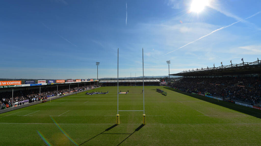 Exeter Chiefs report 11 per cent increase in season ticket sales