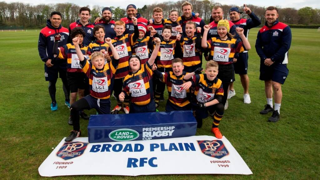 Broad Plain youngsters set for Twickenham prize after Land Rover Cup triumph