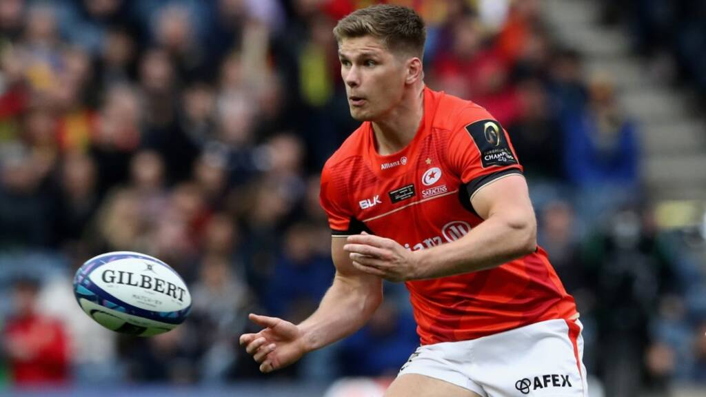 Owen Farrell and the Vunipola brothers star in Saracens' Champions Cup success