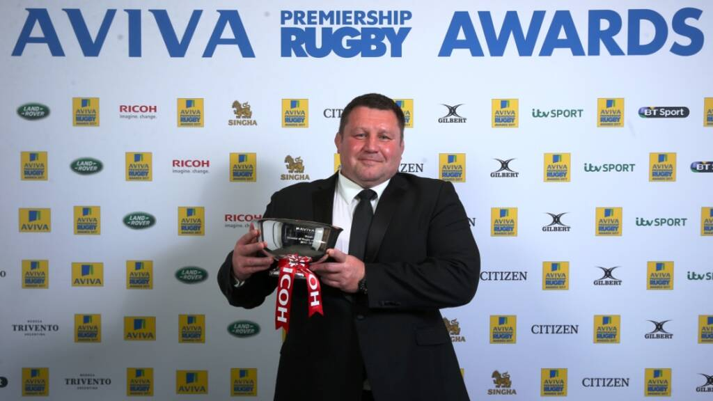 Dai Young says Wasps' journey is not yet over after Aviva Premiership Rugby Awards win