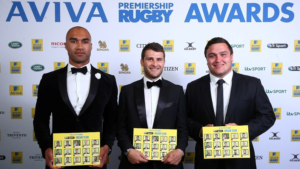 Winger Olly Woodburn hails Exeter Chiefs team-mates after dream team award