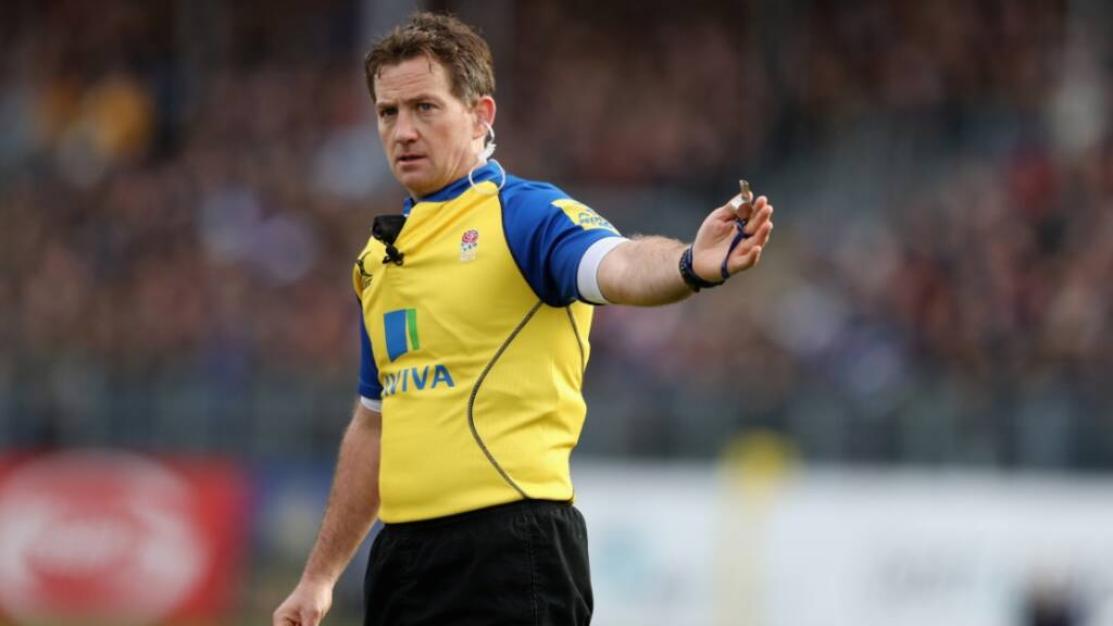 Match Officials for this weekend's Aviva Premiership Rugby