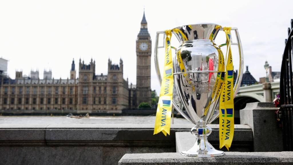 Premiership Trophy in London