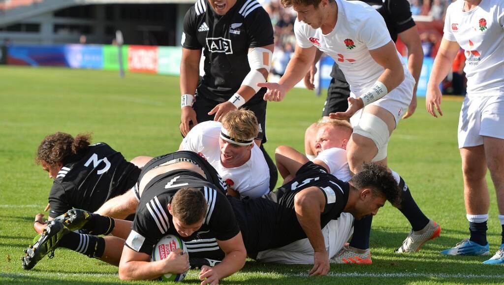 Match Report: England U20s 17 New Zealand U20s 64
