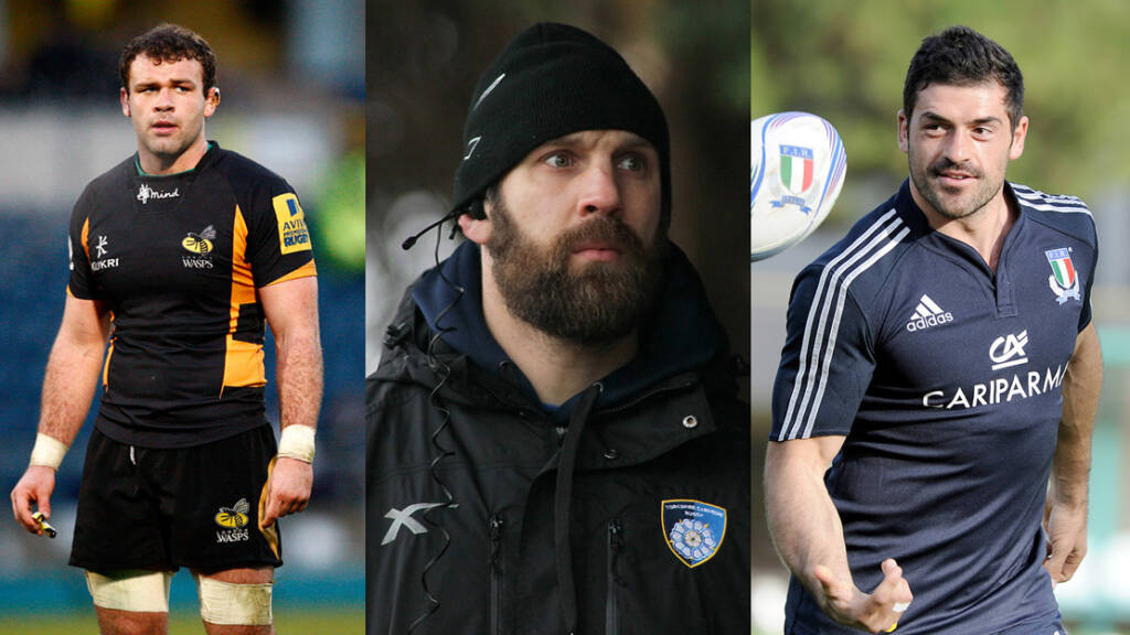The new Wasps academy coaches