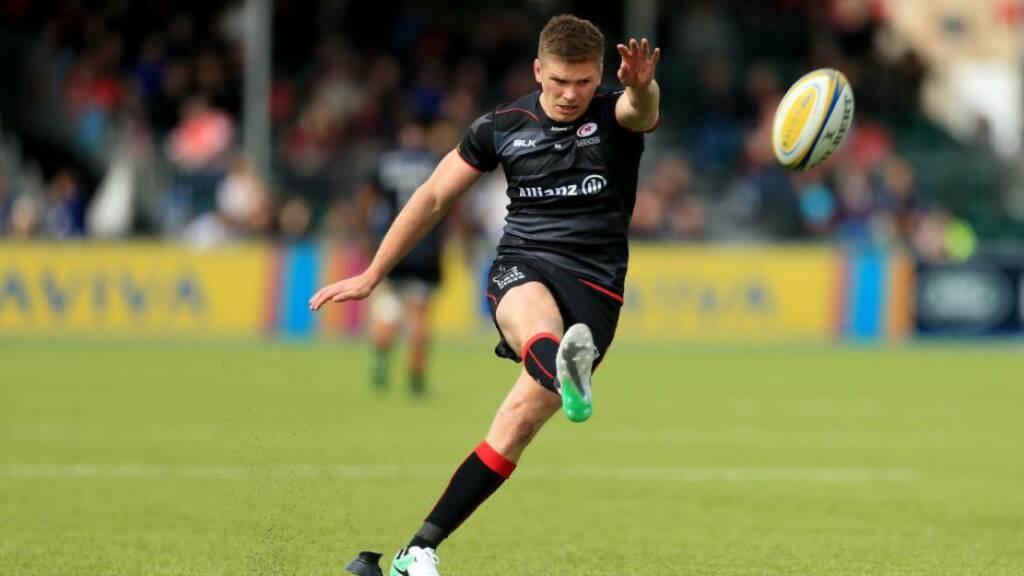 Farrell sinks All Blacks as Lions level Test series