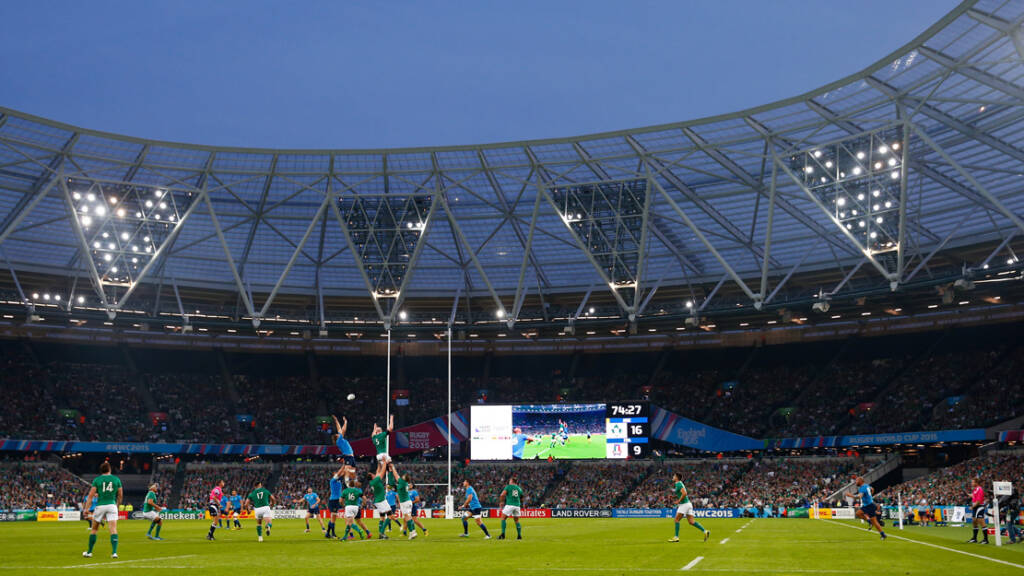 Saracens v Harlequins at London Stadium