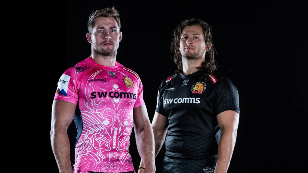 Exeter Chiefs unveil new 2017/18 home and European kits