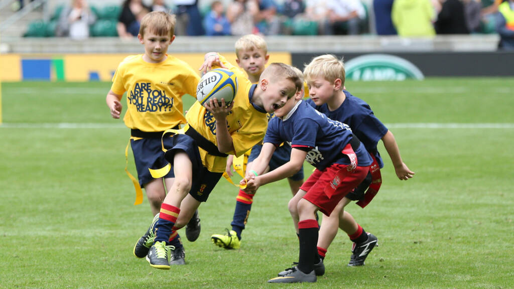Mini and junior rugby players set to share stage with stars at London Double Header