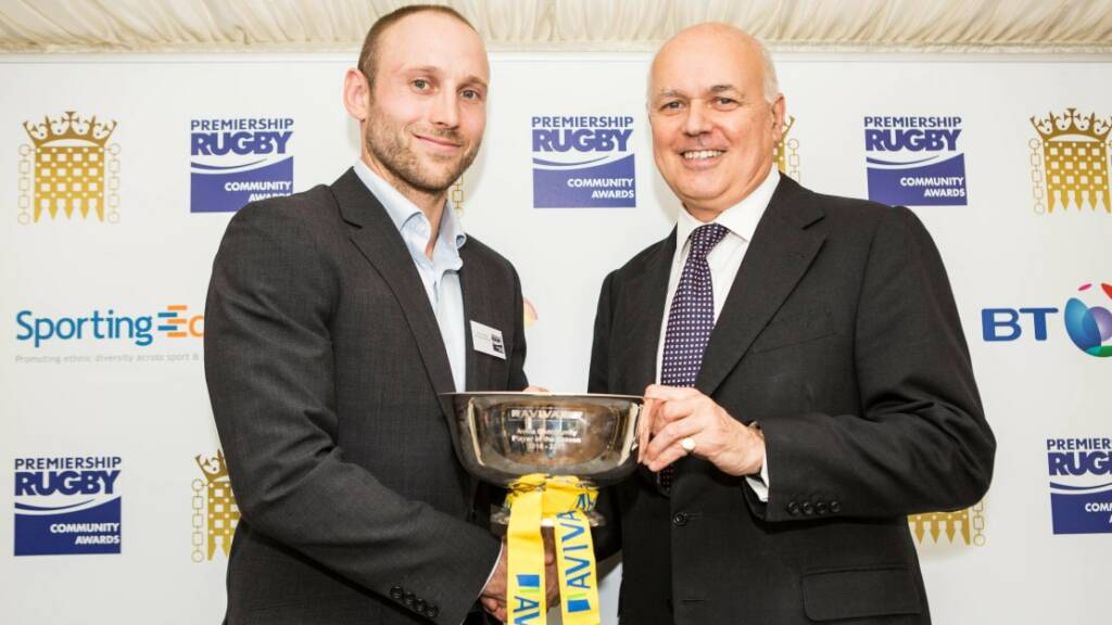 Worcester Warrior Chris Pennell pays tribute to community heroes