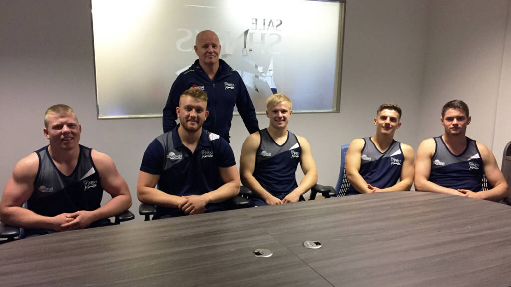 Sale Sharks announce groundbreaking five year deals for Academy graduates