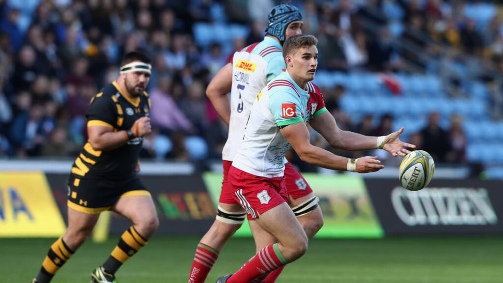 James Lang extends his time with Harlequins
