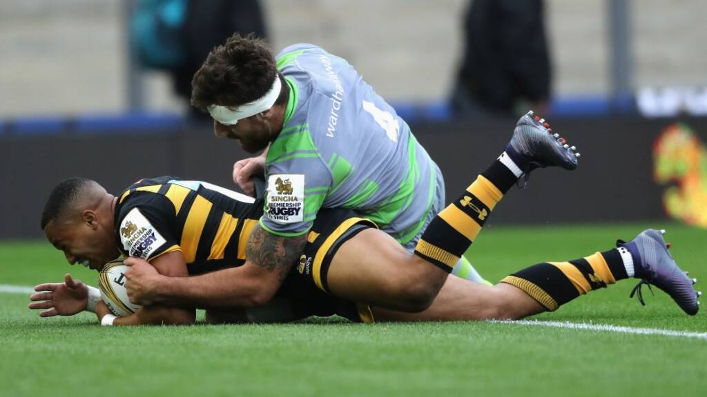 Defending champions Wasps buzzing after day one of Singha Premiership Rugby 7s
