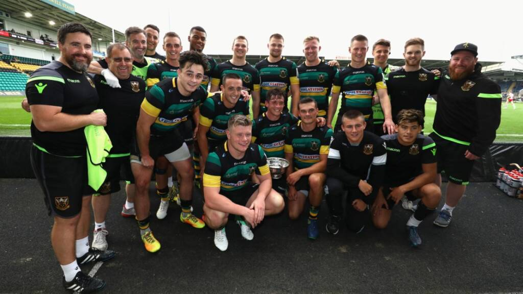 Dingwall delighted to see Northampton Saints finish Singha Premiership Rugby 7s on a high