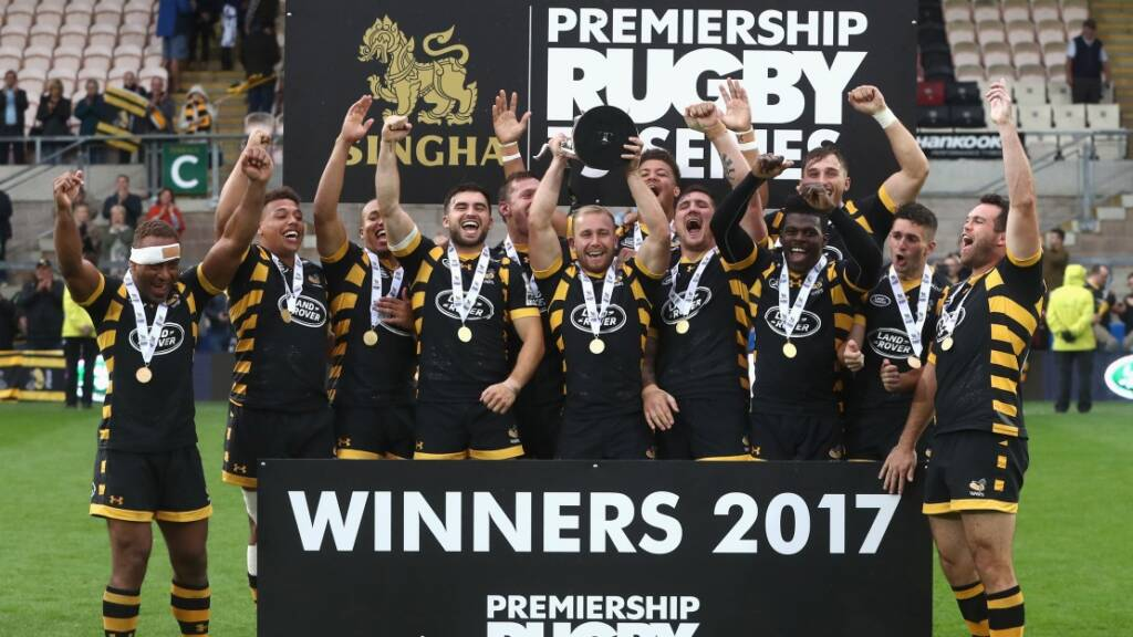 Wasps triumphant in Singha Premiership Rugby 7s Cup final