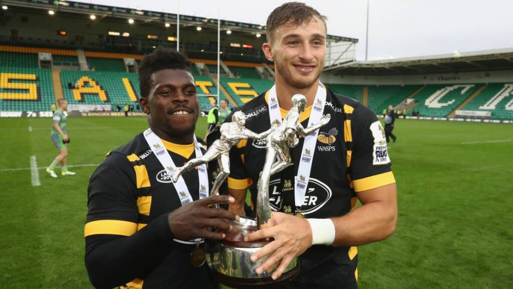 Bassett credits team spirit for Wasps' Singha Premiership Rugby 7s success