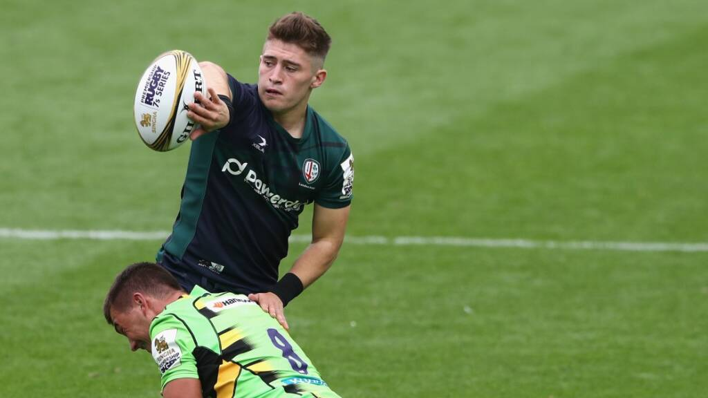 London Irish youngster aims to boost his Brand with Singha Premiership Rugby 7s showing