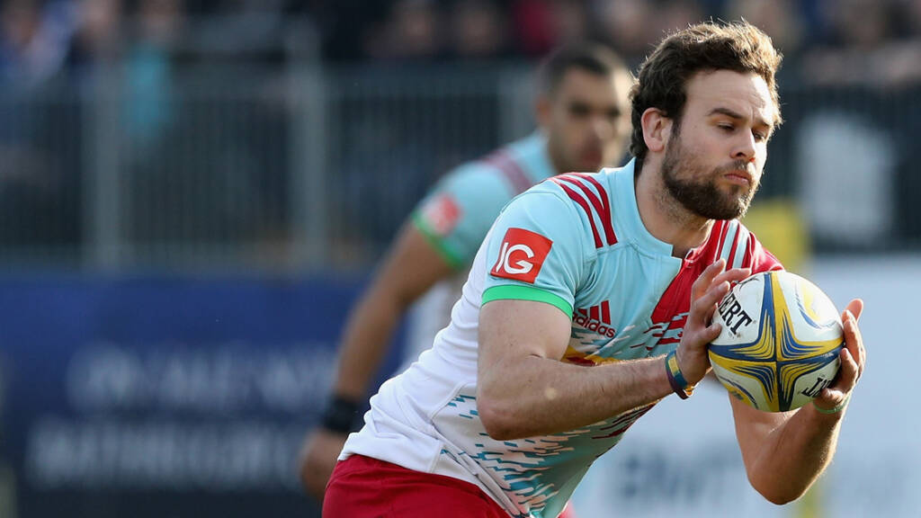 Ruaridh Jackson leaves Harlequins to return to Glasgow Warriors