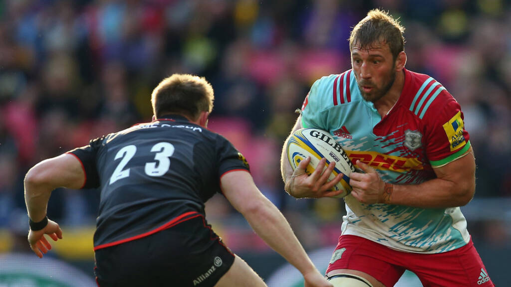 Chris Robshaw commits his future to Harlequins