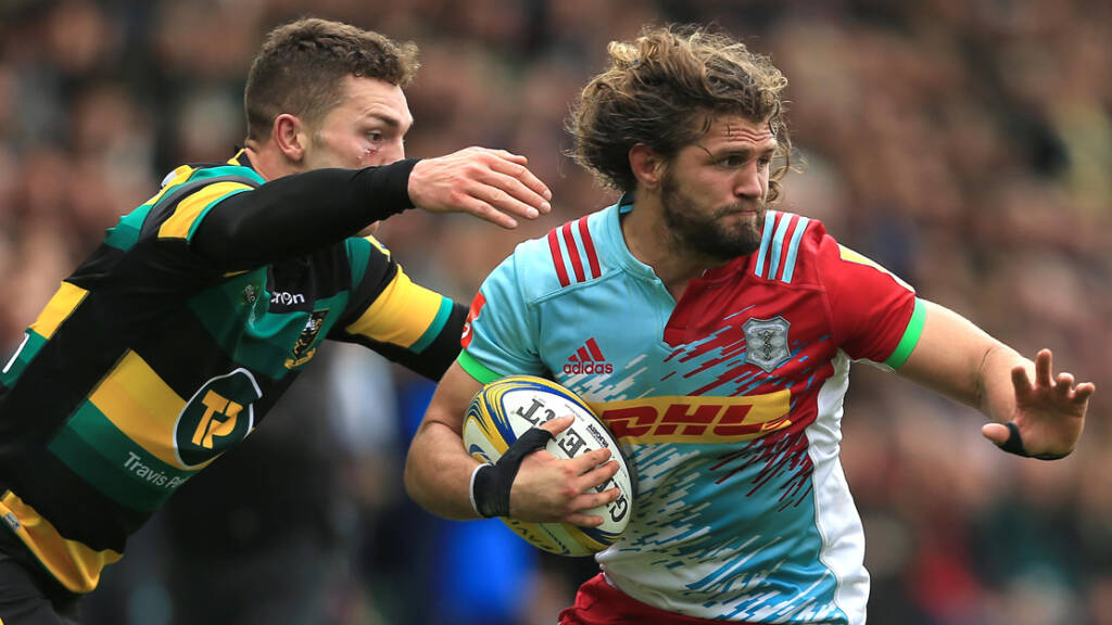 Harlequins statement: Luke Wallace and Jonas Mikalcius