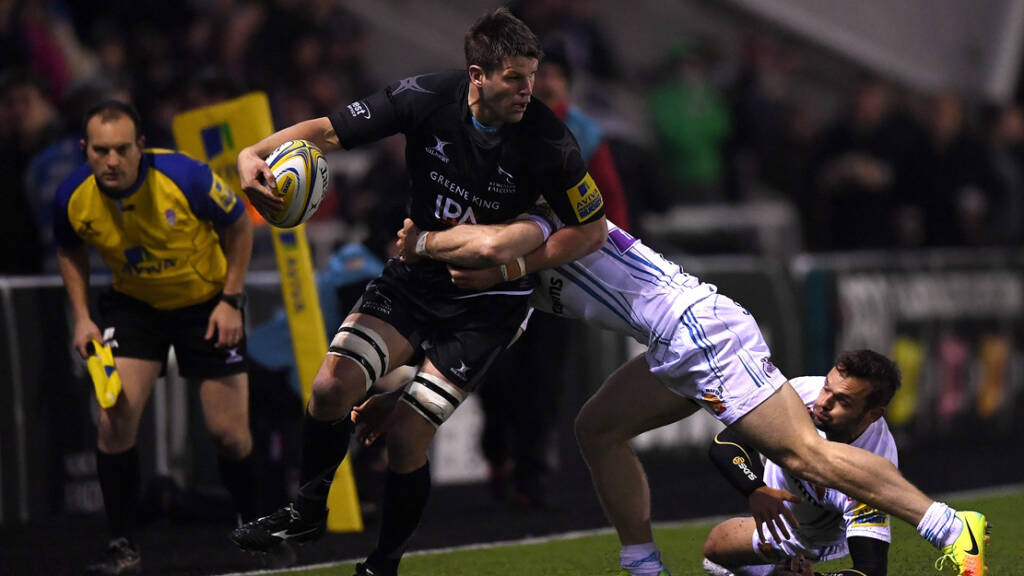 Ally Hogg pleased by Newcastle Falcons' early progress
