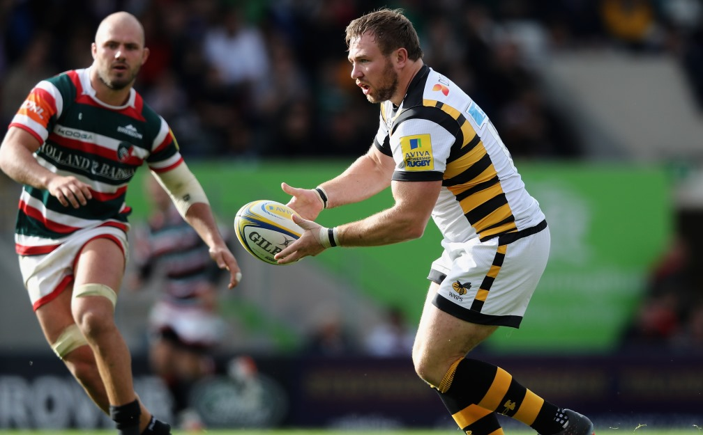 Wasps name team for Connacht clash