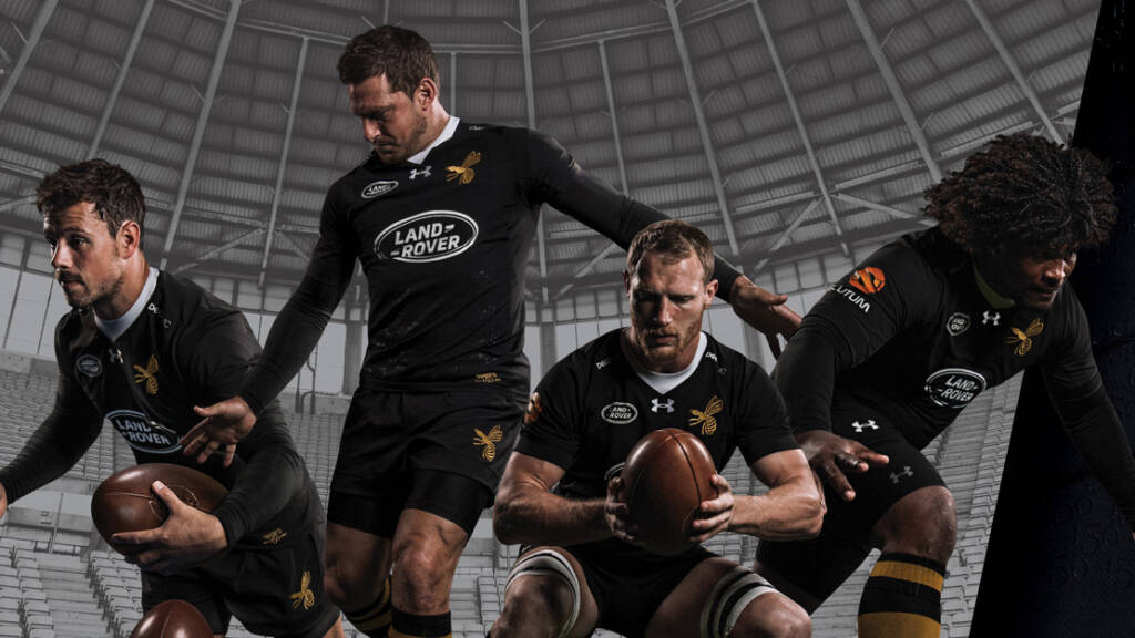 Wasps and Under Armour launch 150th anniversary season kit