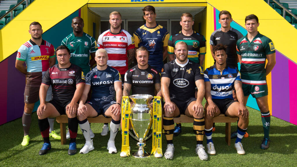 Premiership Rugby Launch
