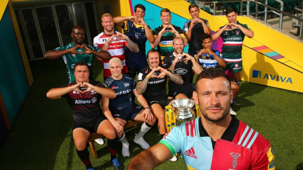 Premiership Rugby supports Aviva Community Fund launch