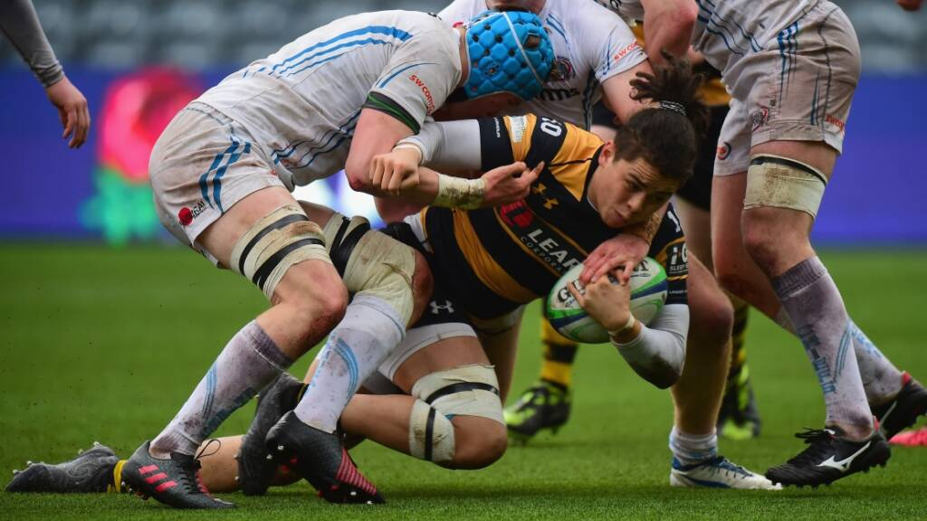 Wasps provide a sting in the tail in the Premiership Rugby A League