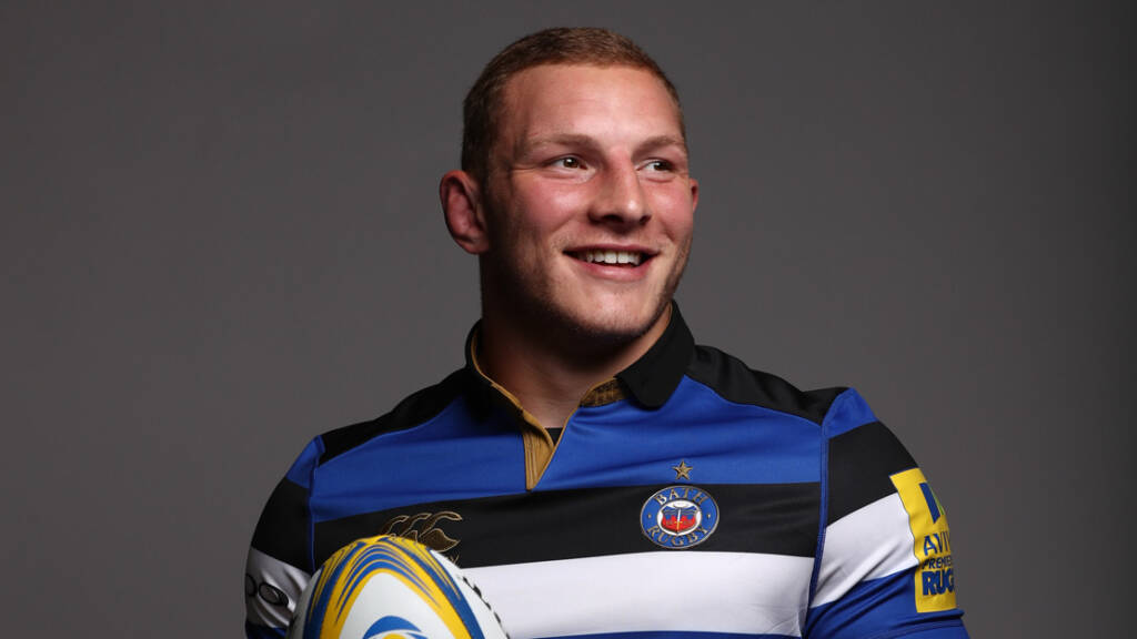 Bath Rugby debut for Sam Underhill against Northampton Saints