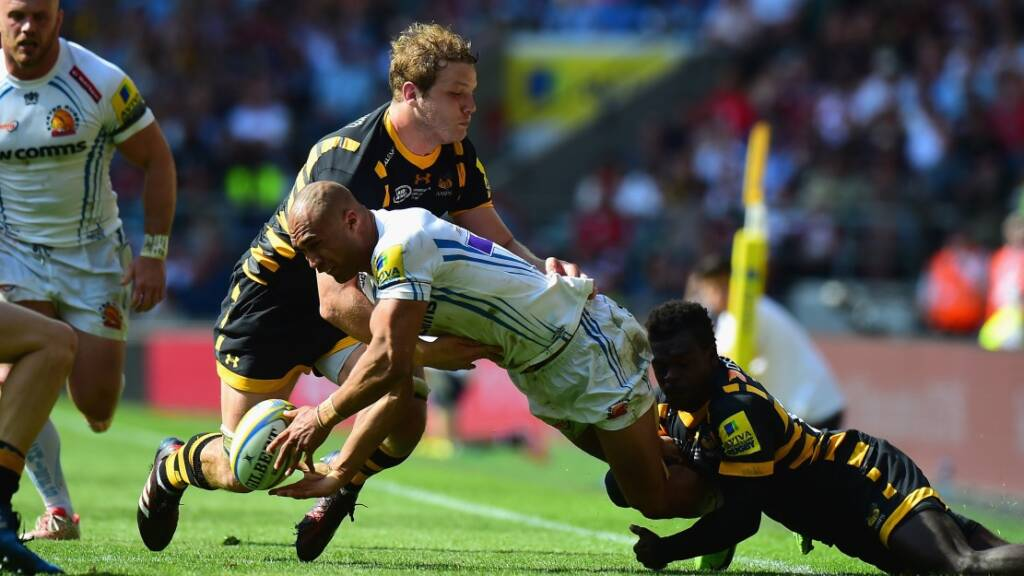 Last season's finalists Exeter Chiefs and Wasps set to do battle live on BT Sport