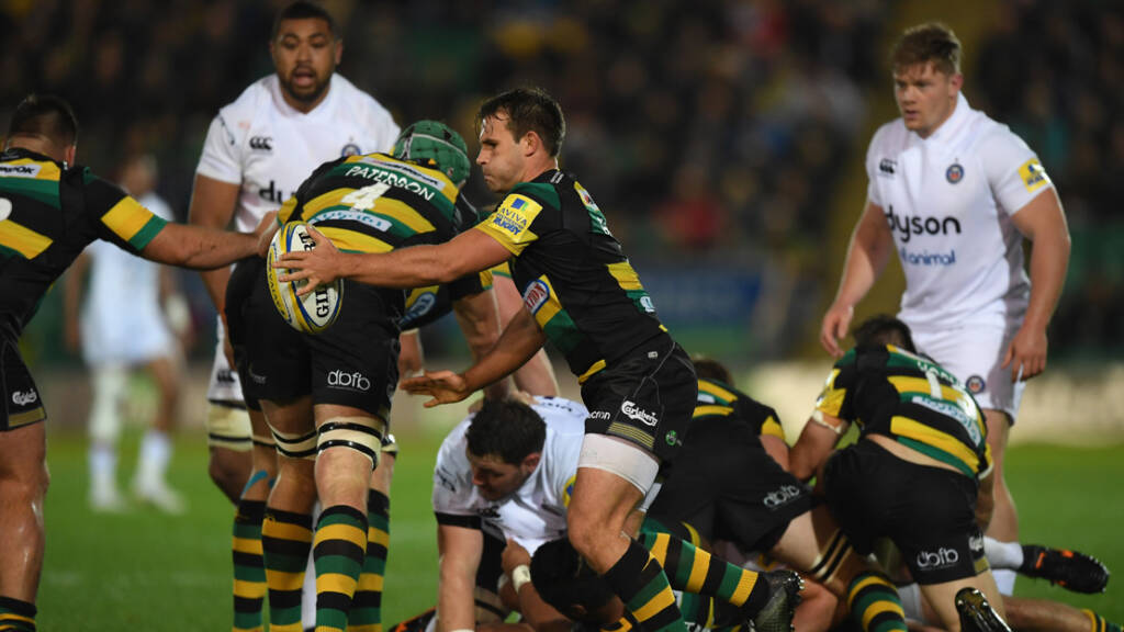 The best photographs from Northampton Saints v Bath Rugby - Round 3