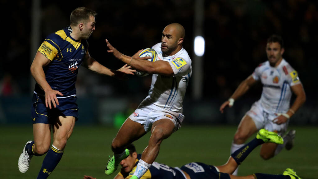 The best photographs from Worcester Warriors v Exeter Chiefs - Round 3
