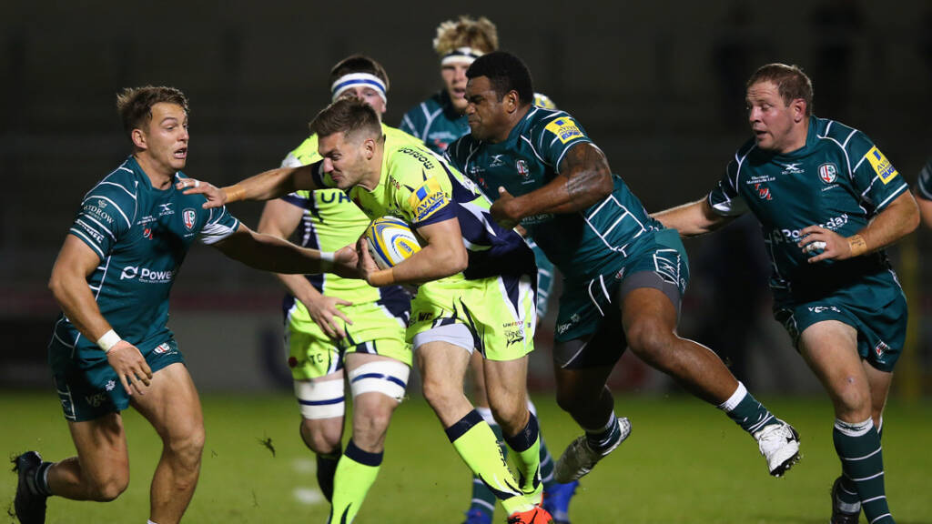 The best photographs from Sale Sharks v London Irish - Round 3