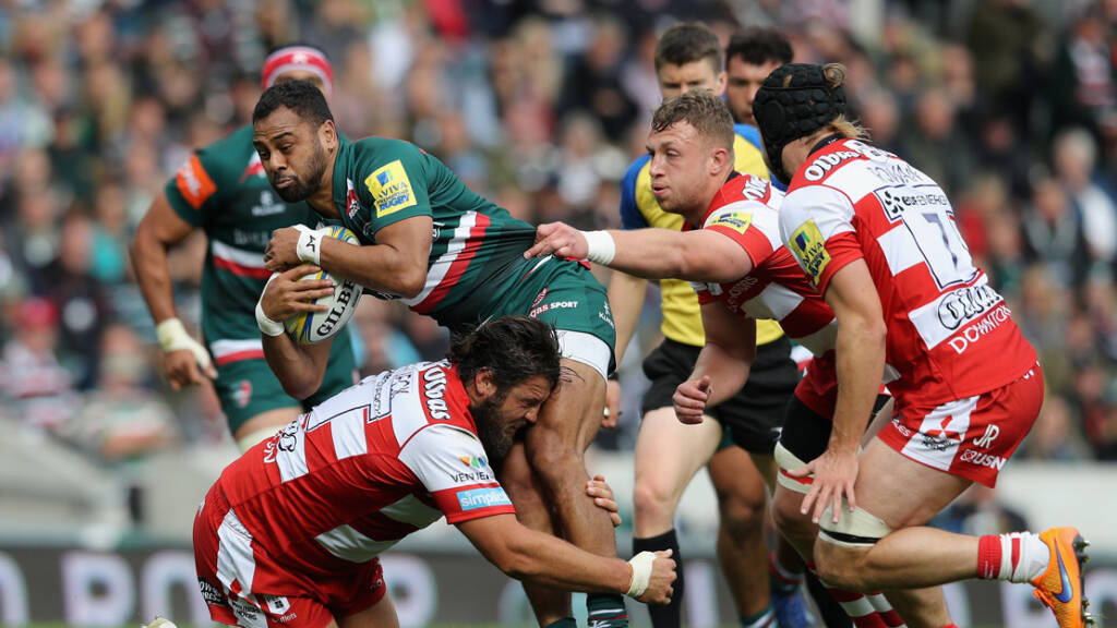 The best photographs from Leicester Tigers v Gloucester Rugby - Round 3