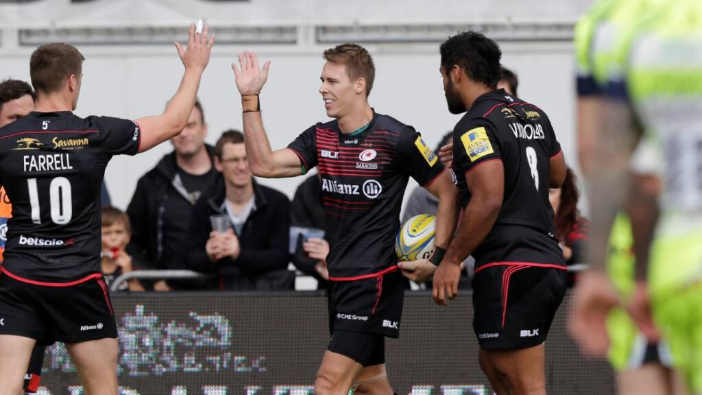 Match Report: Saracens 41 Sale Sharks 13