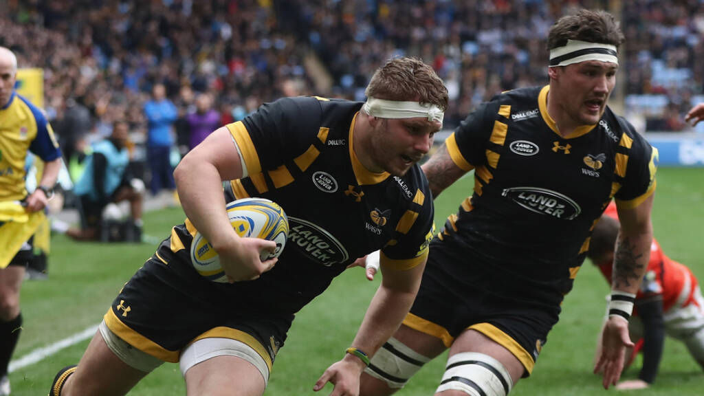 Wasps team to play Bath Rugby