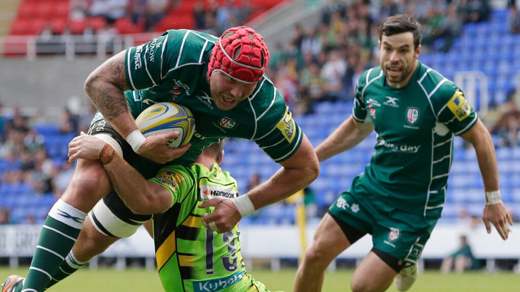 Sebastian De Chaves means business at London Irish