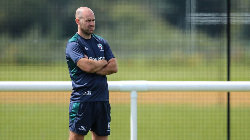 Charlie Hodgson settling into new role at London Irish