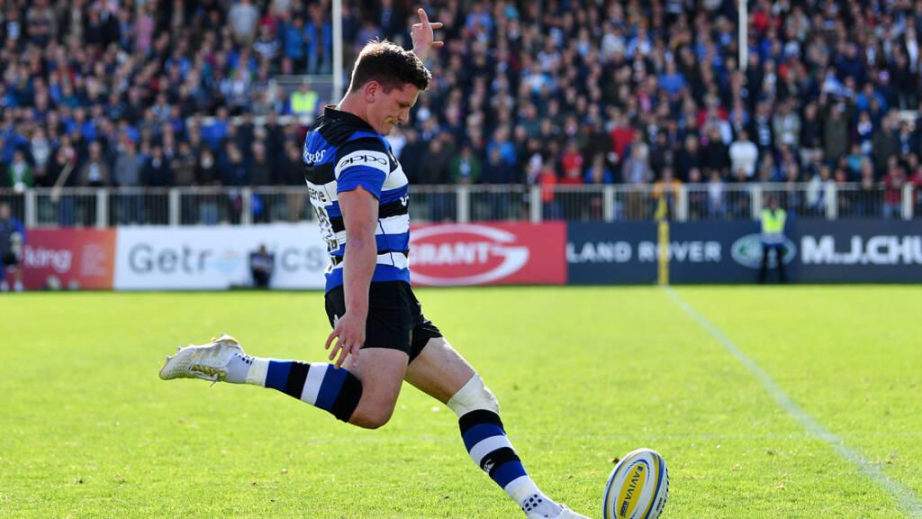 Debut Bath Rugby start for Freddie Burns