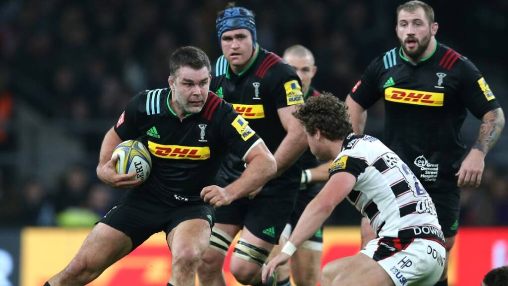 Nick Easter: Harlequins' style of rugby kept me going