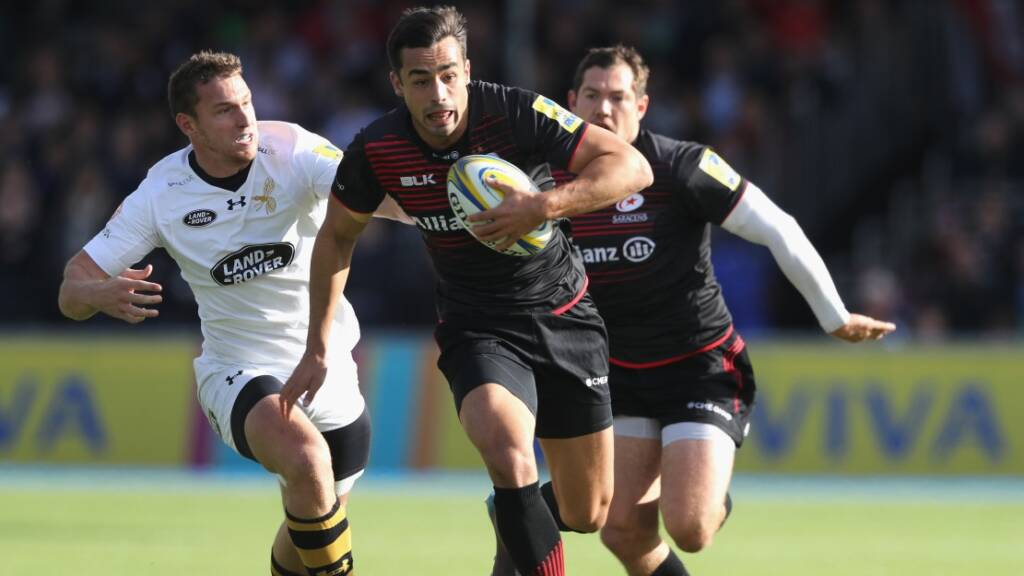 Alex Lozowski and Ben Spencer in for Saracens