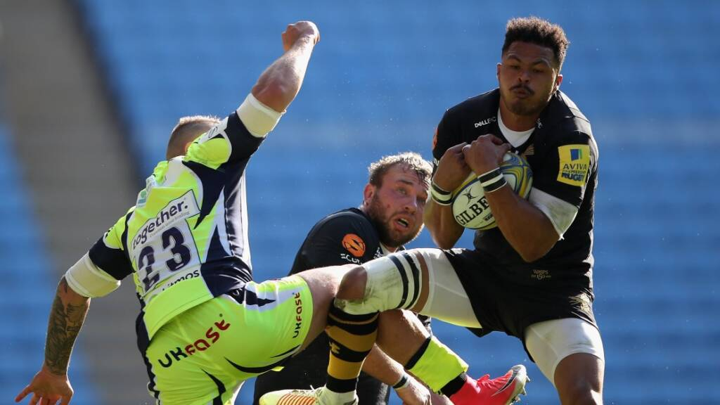 Wasps' De Jongh to make European debut against Harlequins
