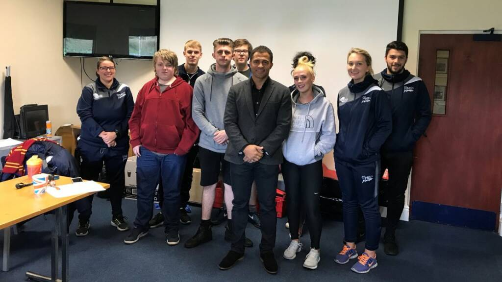 World Cup winner Jason Robinson inspires HITZ learners