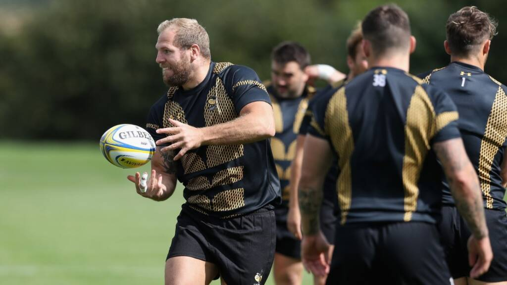 On your marks, get set…MO! James Haskell relishing Movember effort